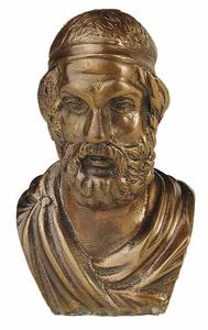 D.001 - Arisztotelész görög fej