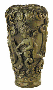 D.007 - Walking stick handle with Cupid