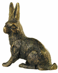 D.032 - Rabbit bronze