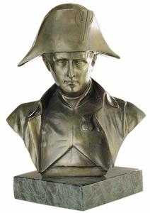 D.156m - Napóleon mellszobor, márványon