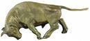 D.113 - Bika bronz szobor
