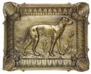 D.184 - Ashtray, with grayhound